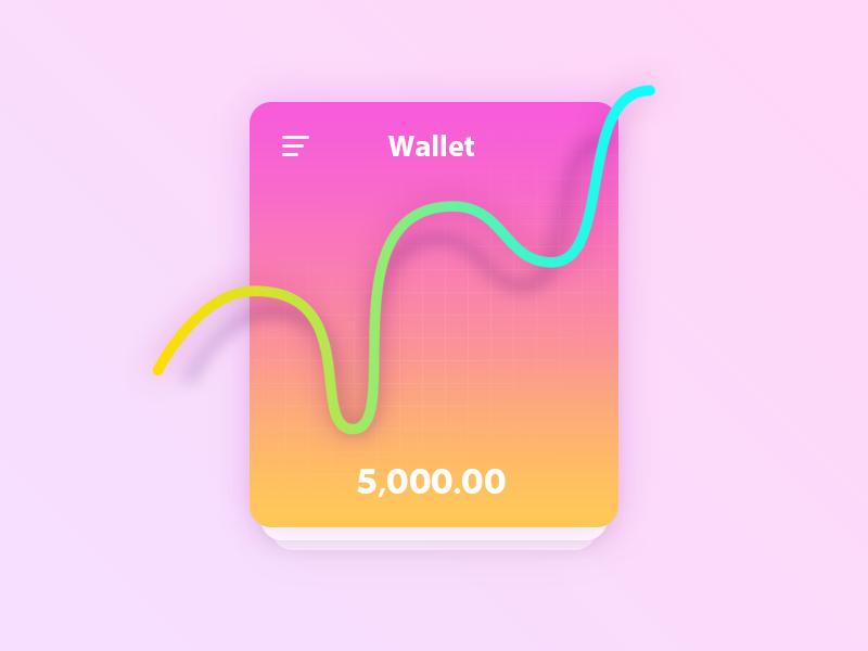 wallet app App, Wallet, App design