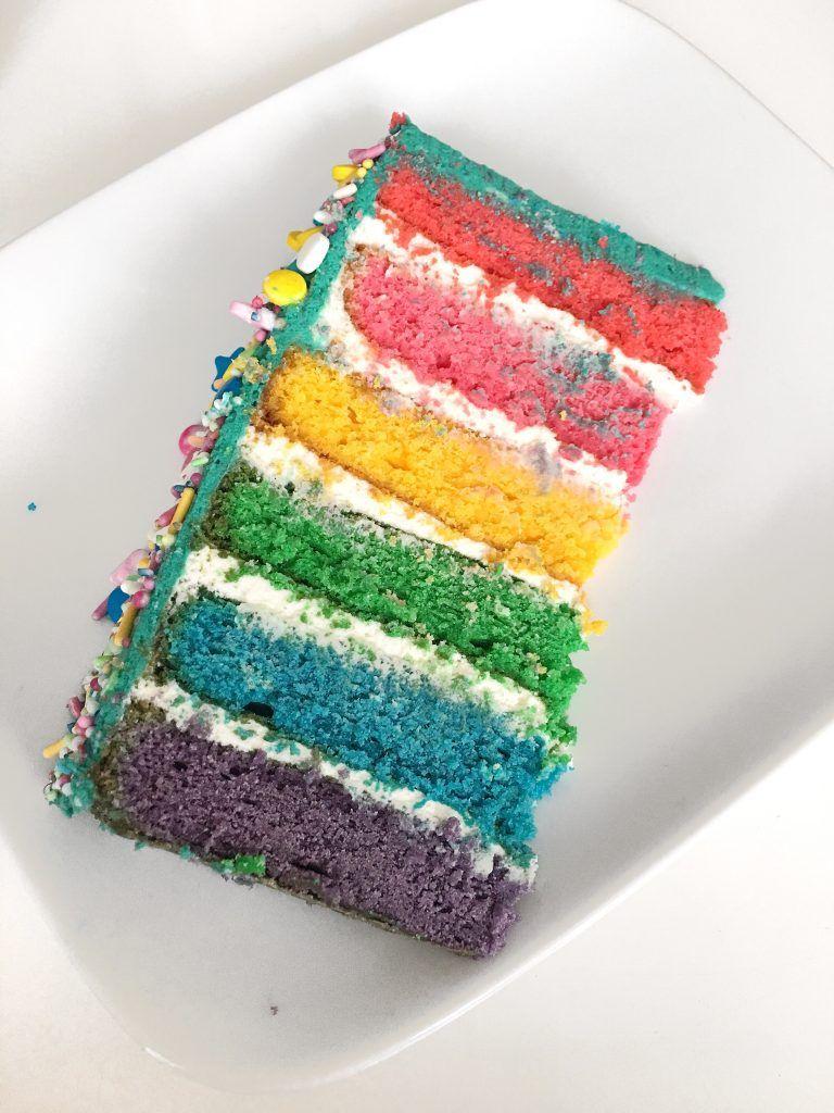 REGENBOGENTORTE / RAINBOW CAKE | Keep it Herrlich | Lifestyleblog