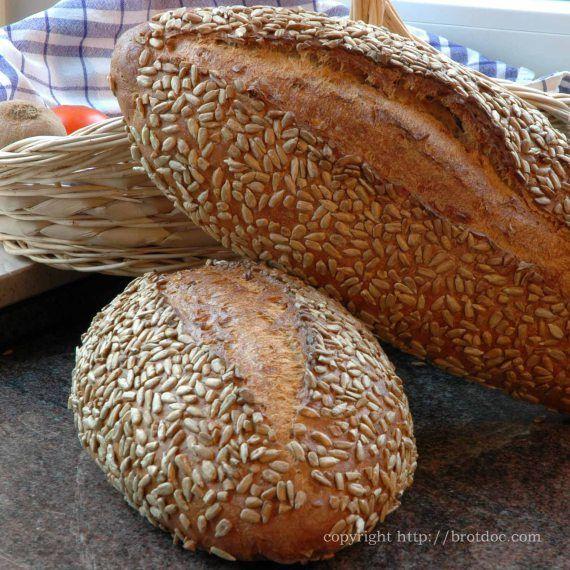 Sonnenblumenbrot – Sunflower-seed-bread