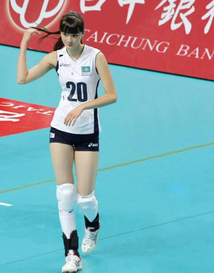 Sabina Altynbekova A Cute Kazakhstan Volley Ball Player Beautiful Athletes Women Volleyball Female Athletes