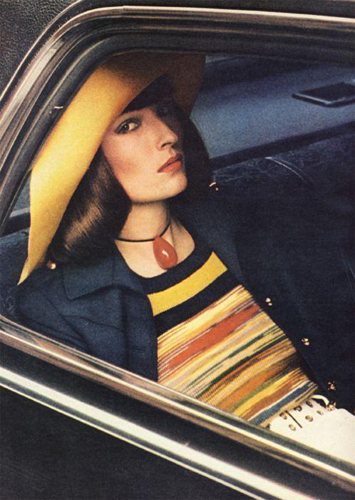 Viviane Fauny by Helmut Newton   Vogue 1972.