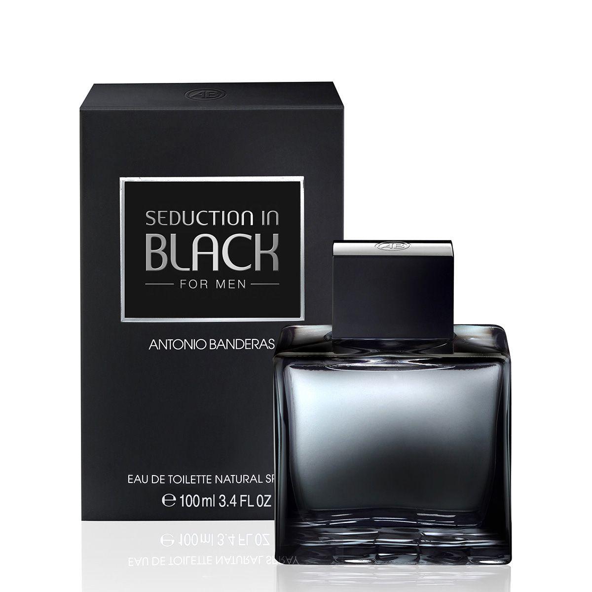 4d4c175b5 Perfume Seduction in Black Men Masculino Antonio Banderas Eau de ...