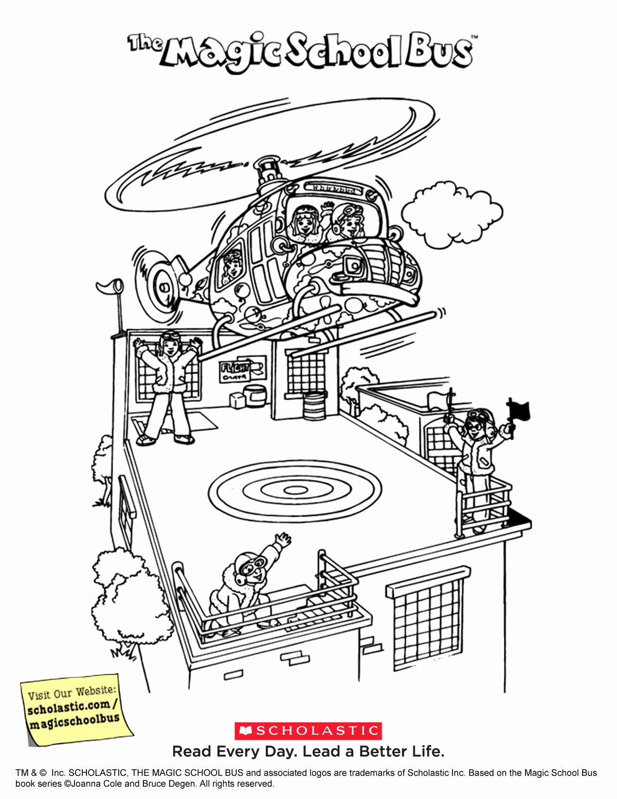 Magic School Bus Coloring Page Lovely Magic School Bus