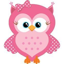girly owl cartoon sweet pink cartoon owl jewelry case jpg height rh pinterest co uk Green Owl Clip Art Green Owl Clip Art