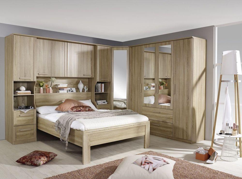 Best Rauch Rivera Bedroom Set With 160Cm Storage Bed In Sonoma 400 x 300