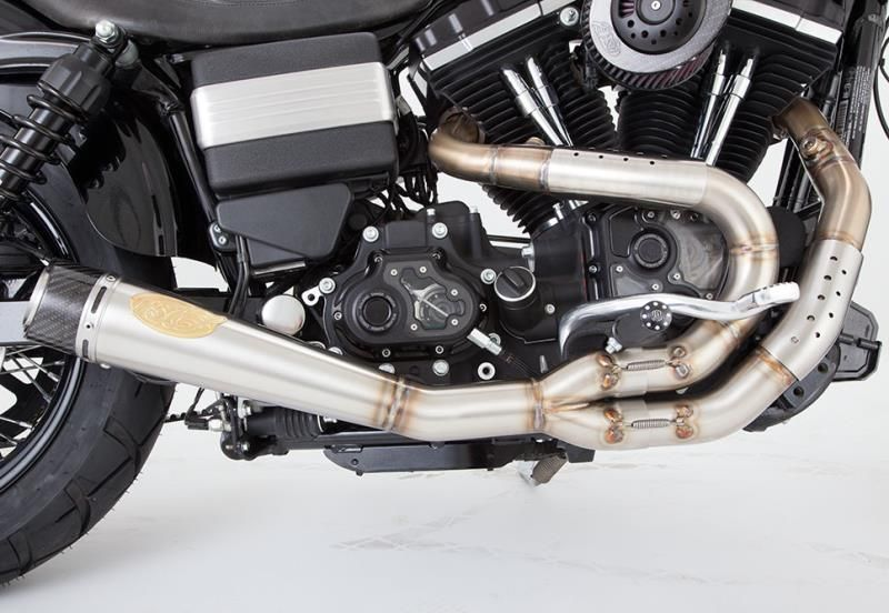 rsd slant 2 into1 exhaust system