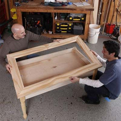 How to Build a Display Coffee Table Display Coffee and Woodworking