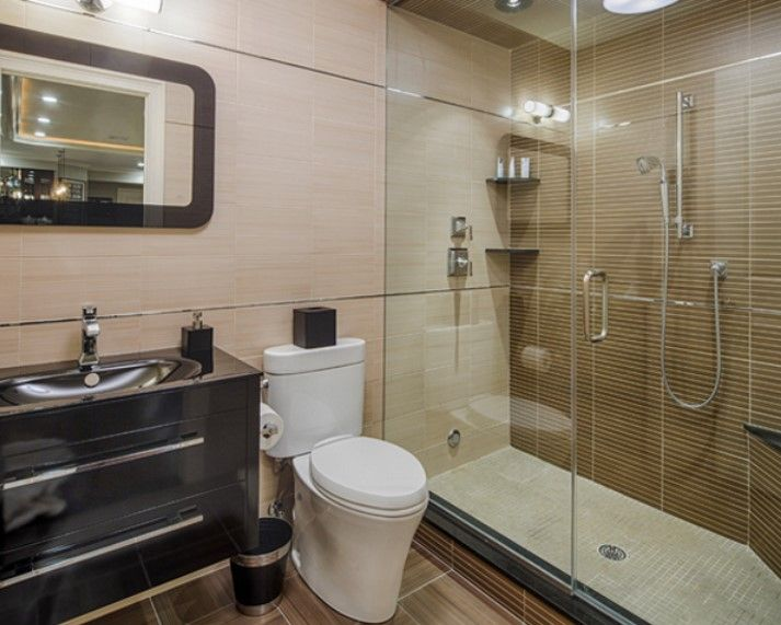 Basement Bathroom Ideas On Budget Low Ceiling And For Small Space Check It Out Basement Bathroom Remodeling Basement Bathroom Design