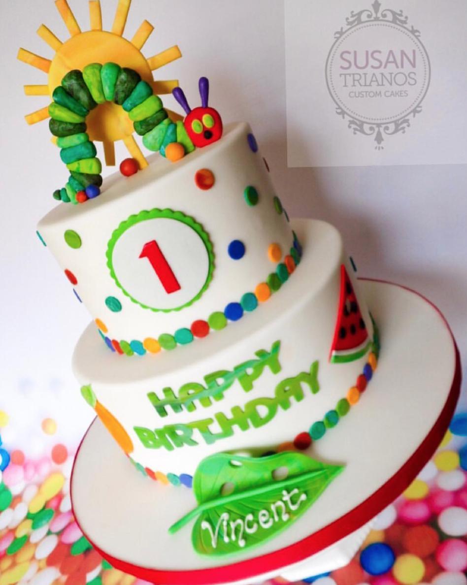 Der sehr hungrige Caterpillar-Geburtstag backt Inspiration zusammen   – Ethan's birthday party