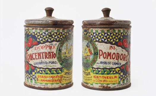 Louise Fili's Collection of Italian Tins