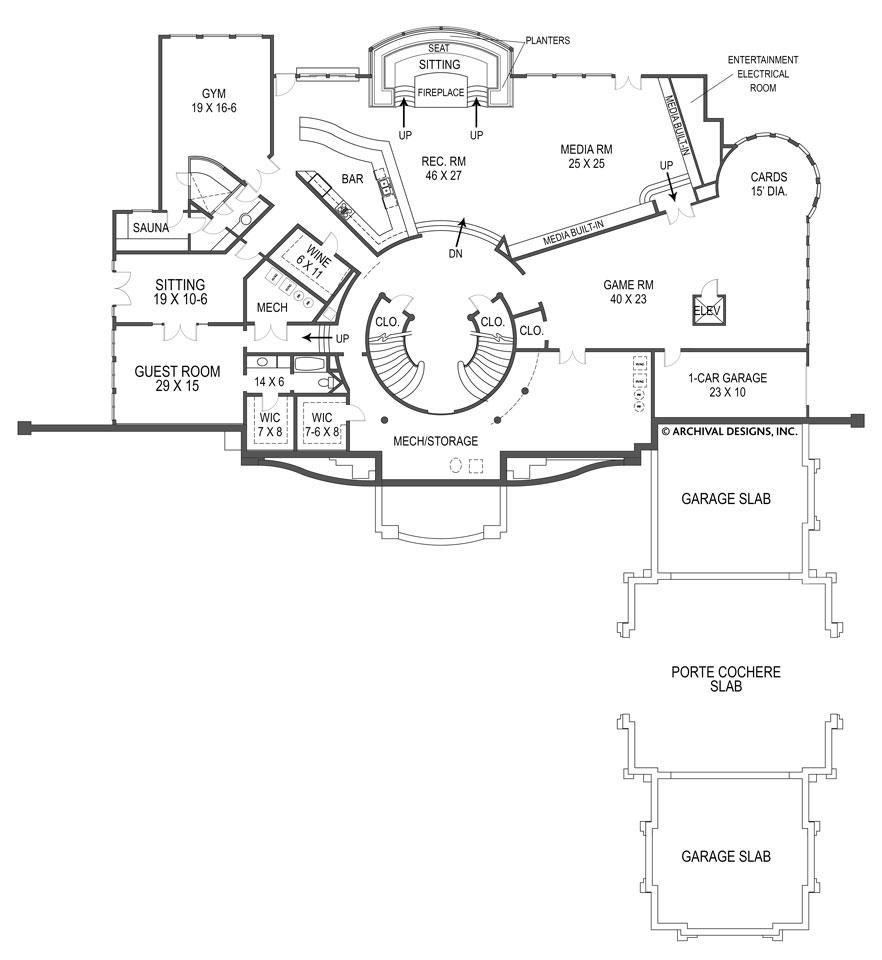 Breakers House Plan Basement Flooring Options House Plans Basement Flooring