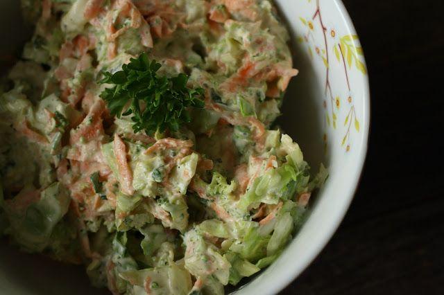 MissMuffin: Coleslaw med spidskål og broccoli