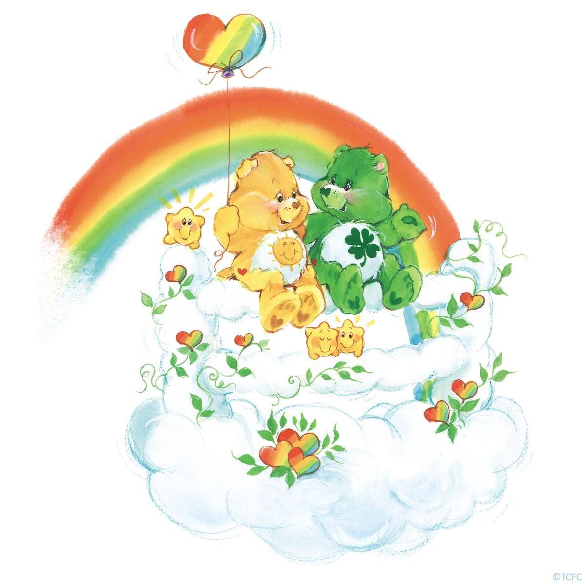 Care bears funshine and good luck bear care bears