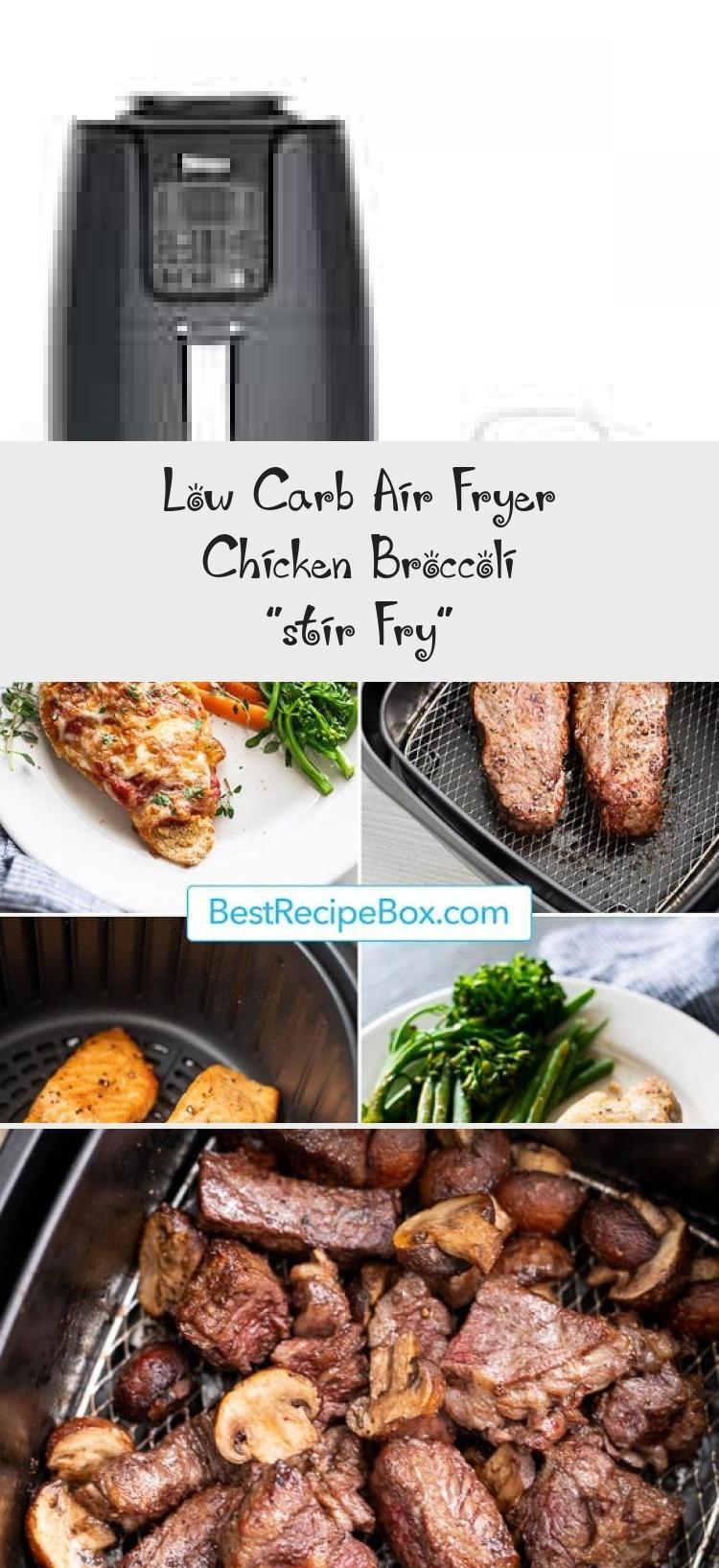 "Low Carb Air Fryer Chicken Broccoli ""stir Fry"" Vegetable"