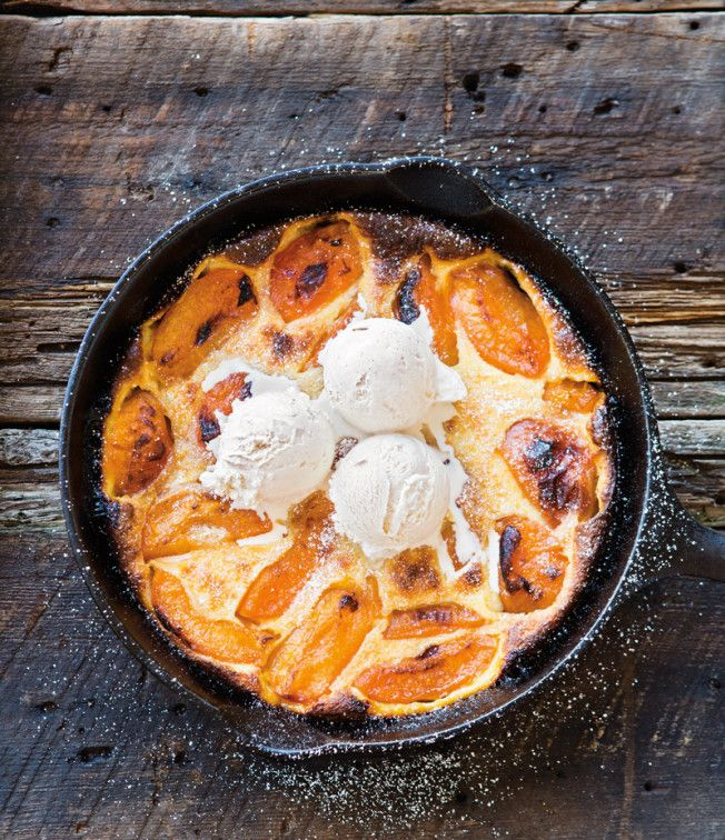 Apricot Clafoutis Desserts Food Clafoutis Recipes