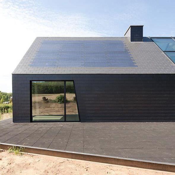 bardage ardoise de pierre naturelle textur en. Black Bedroom Furniture Sets. Home Design Ideas
