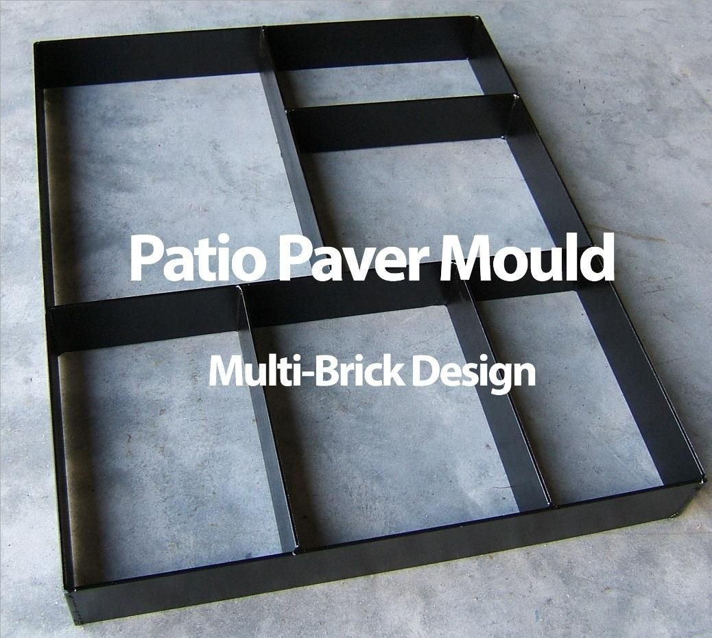 Paver Maker Patio Mould Make Your Own Pathway Backyard
