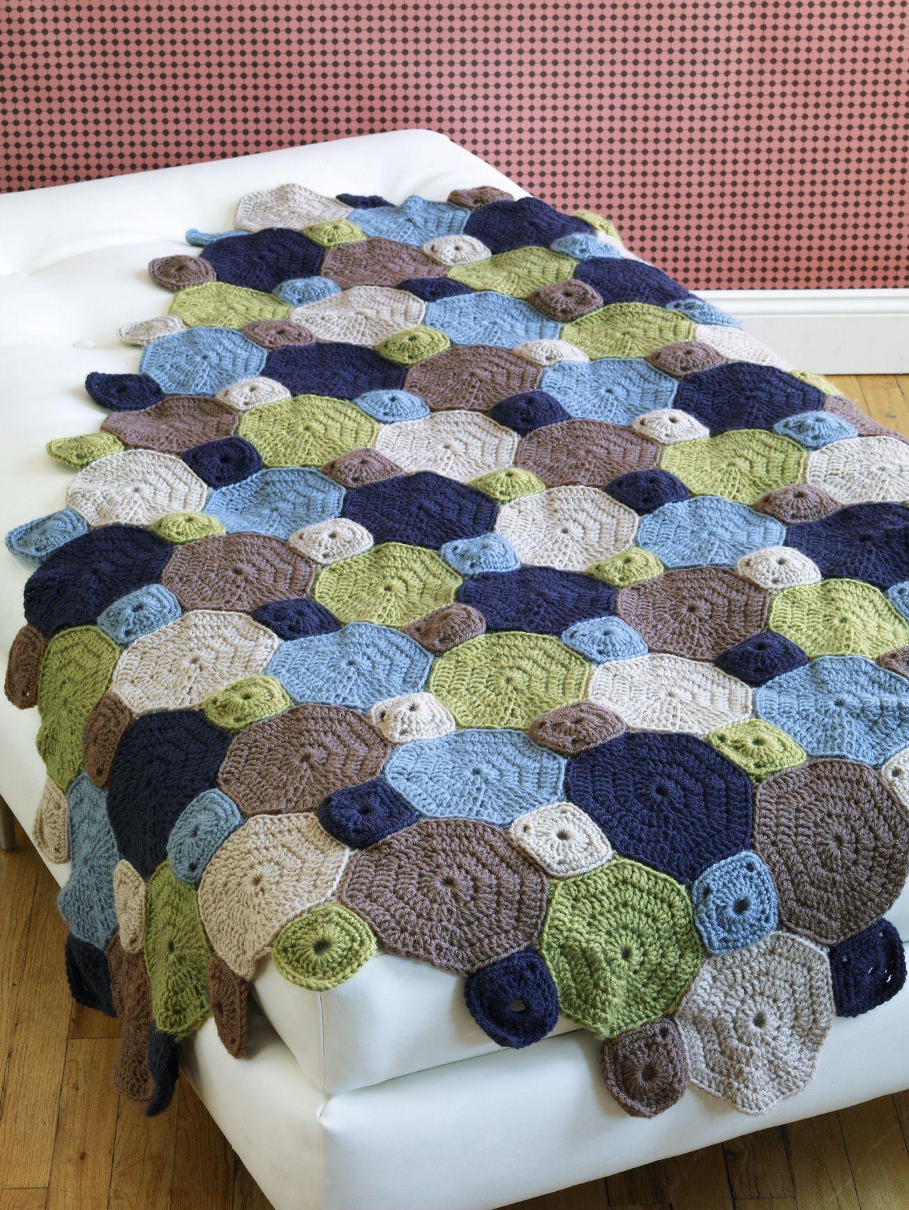 Park Slope afghan crochet pattern   Crochet - Afghans   Pinterest ...