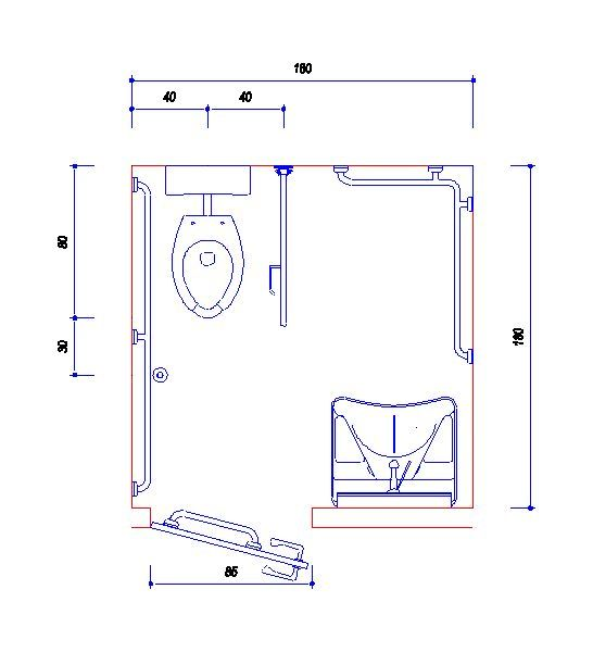 Banheiro Completo Adaptado Para Deficientes Fisicos Banheiro