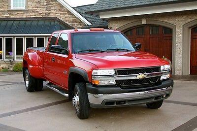 2002 Cheverolet 3500 Silverado Duramax Diesel Truck Diesel