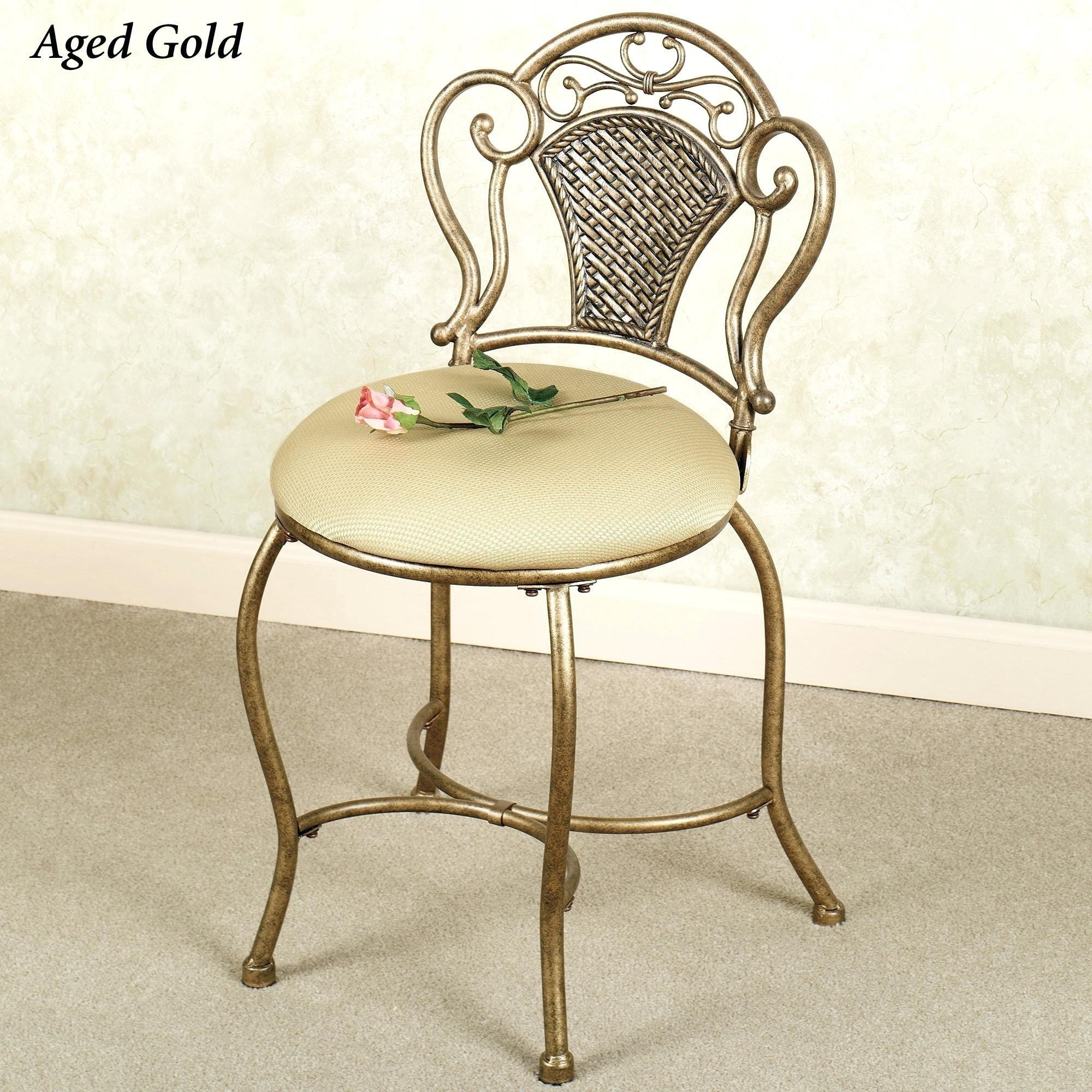 Vanity Chair Für Badezimmer  Schminktisch stuhl, Kosmetikstuhl
