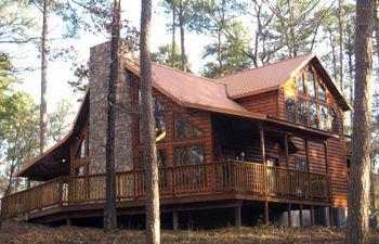 Copper Pines Beavers Bend Cabin Broken Bow Cabin Rustic Stone Fireplace Luxury Cabin Rental Cabin