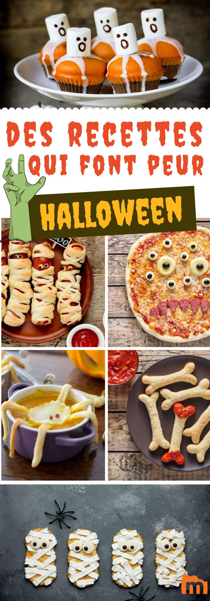 Idée Repas Entre Amis Marmiton Halloween, 32 idées pour flipper rien qu'en regardant son assiette