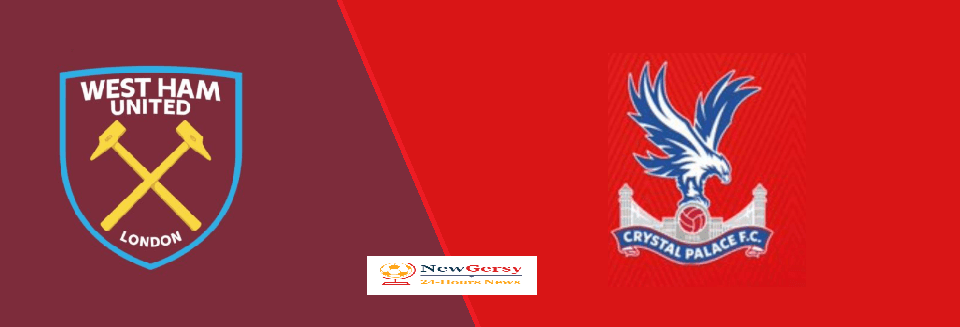 West Ham United 12 Crystal Palace Live stream Premier