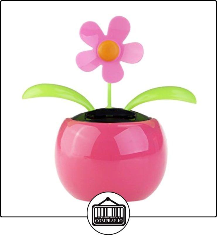 Tinksky Dacing Solar coche decoración Solar Powered feliz bailando flor en la pantalla de escritorio de oficina de pote (rosa)  ✿ Regalos para recién nacidos - Bebes ✿ ▬► Ver oferta: http://comprar.io/goto/B01LYOG81P