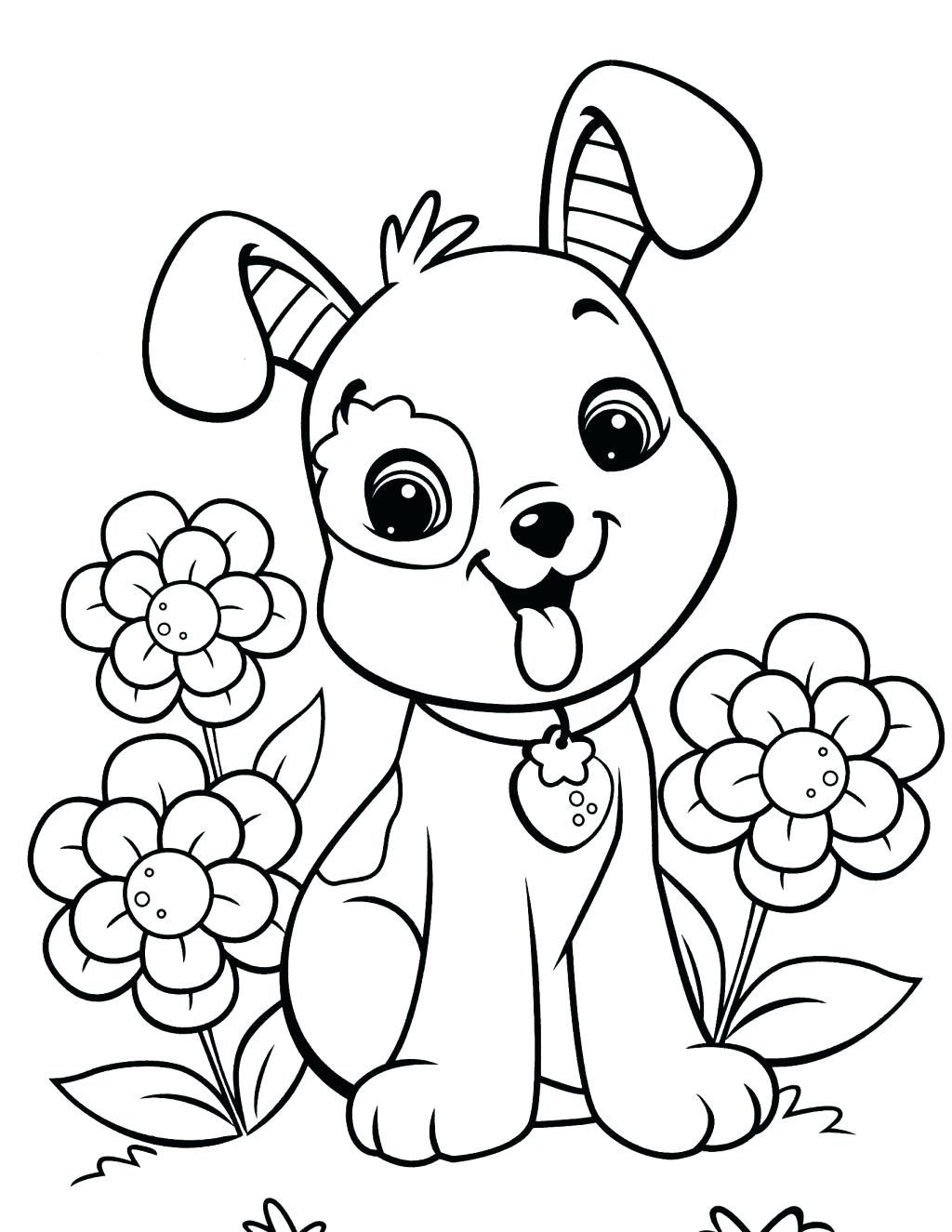 Cute Dogs Coloring Pages Ndash Sandboxpaperco Puppy Coloring Pages Dog Coloring Page Easy Coloring Pages