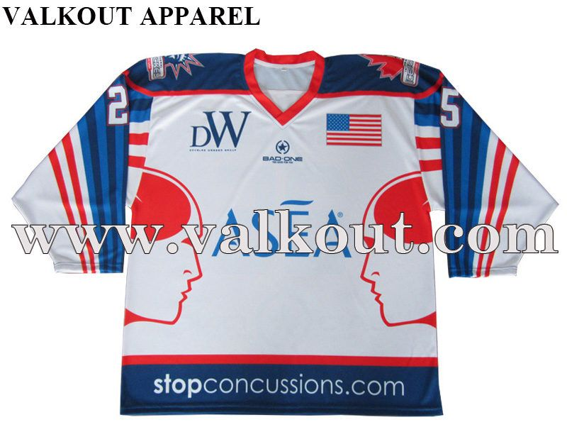 Design Your Own Ice Hockey Jersey Wholesale Valkout Apparel Co Ltd Custom Sublimated Fishing Jerseys Sublimated T Sh Ice Hockey Jersey Ice Hockey Jersey
