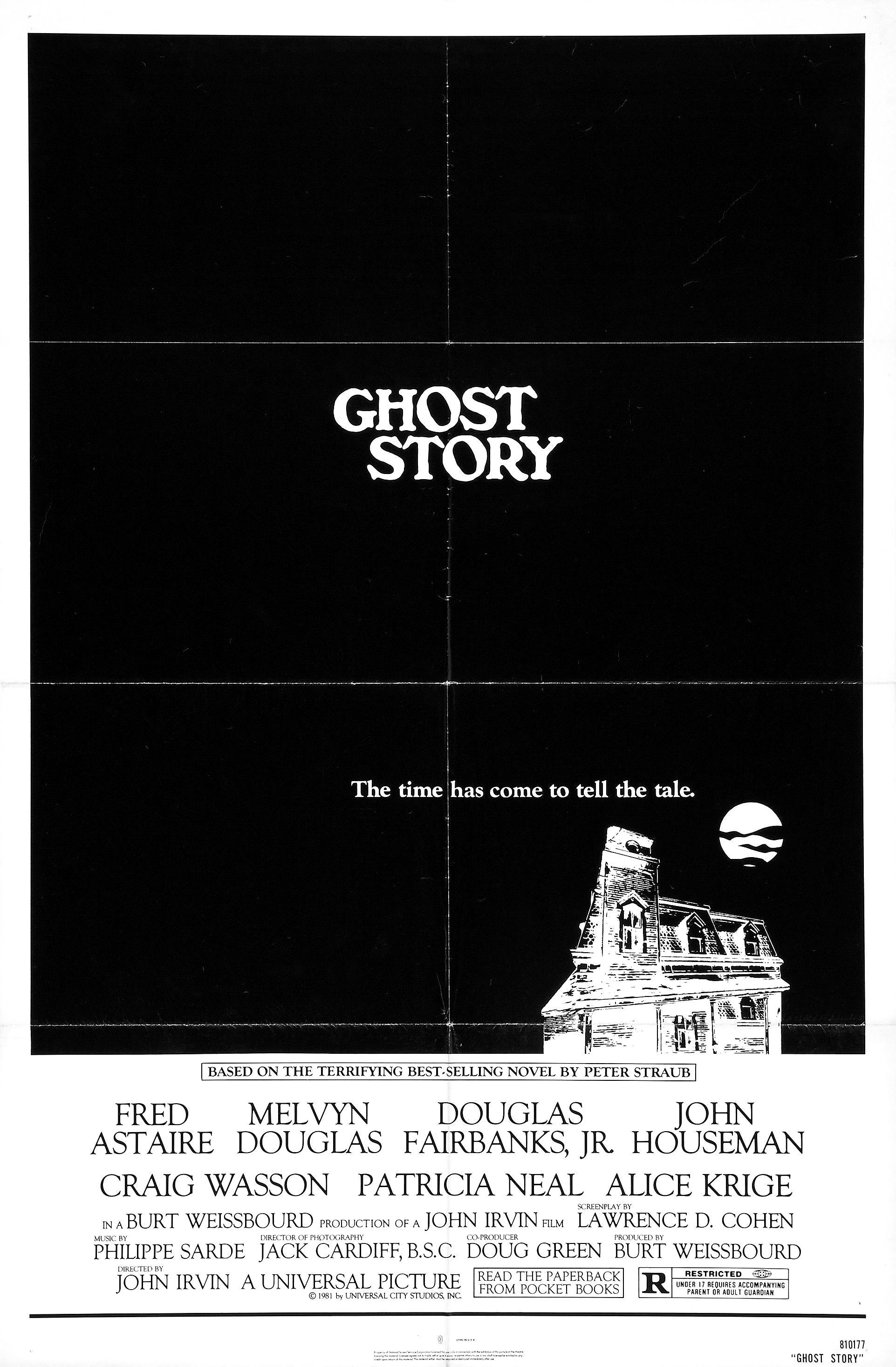 Ghost Story / i LOVE the book by Peter Straub. Creepy