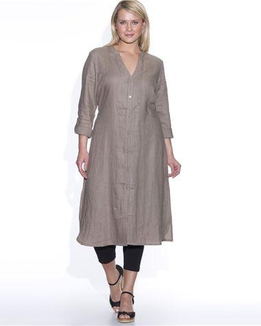 robe liquette pur lin grande taille femme taillissime With robe liquette