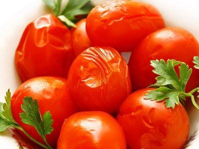 засолить помидоры в пакете рецепт с фото