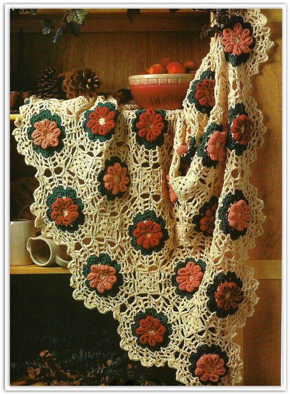 Crochet Afghan Pattern Flower Motif Pdf 14794171 Crochet