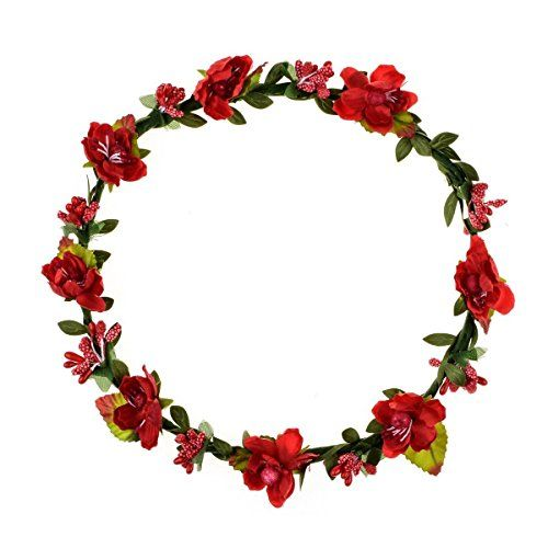 Floral Fall BOHO Headband Flower Crown Festival Wedding B... https ... eb583e211c0
