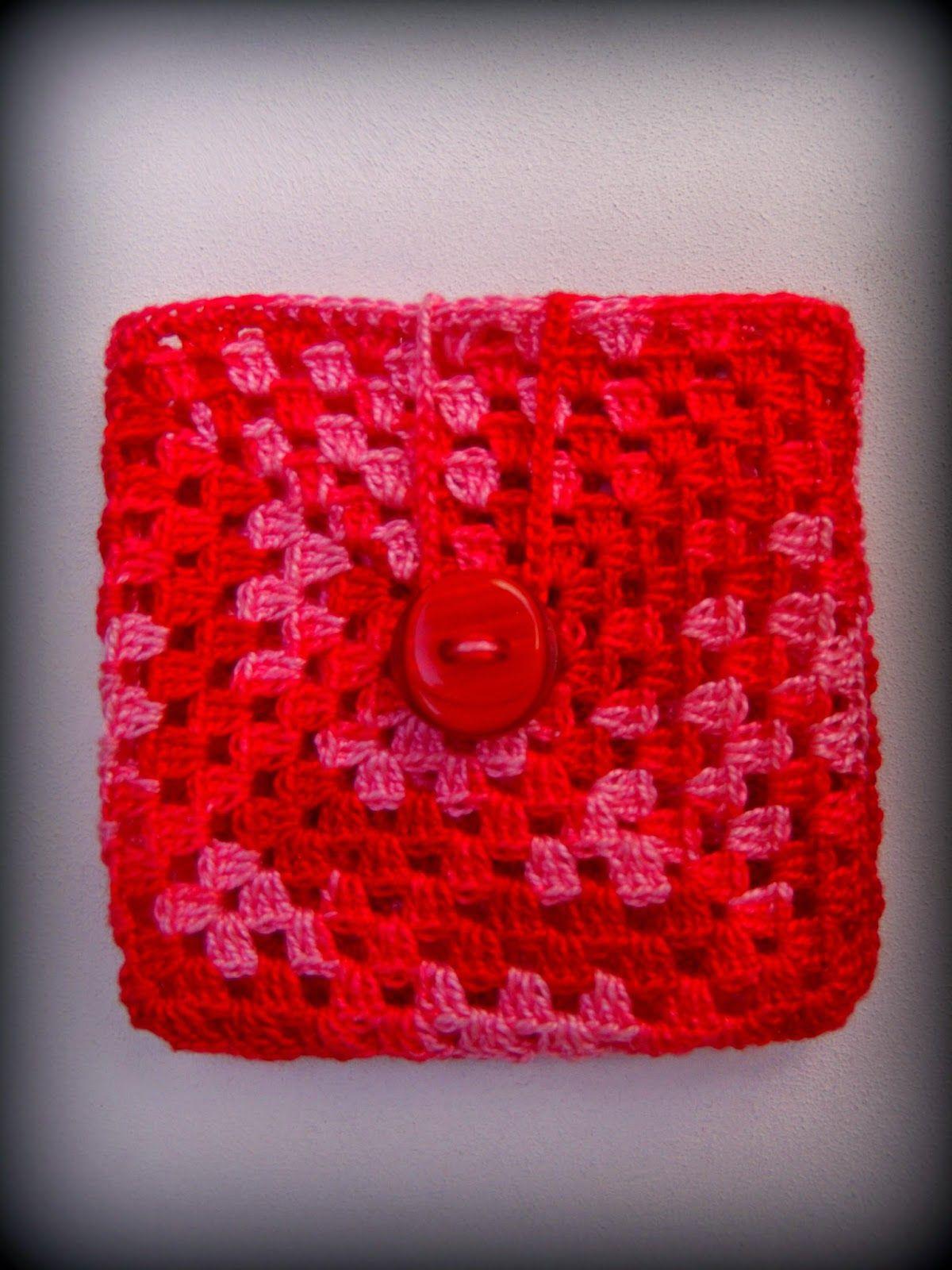 El Tallercito de Nany: Porta toallitas femeninas | patrones crochet ...