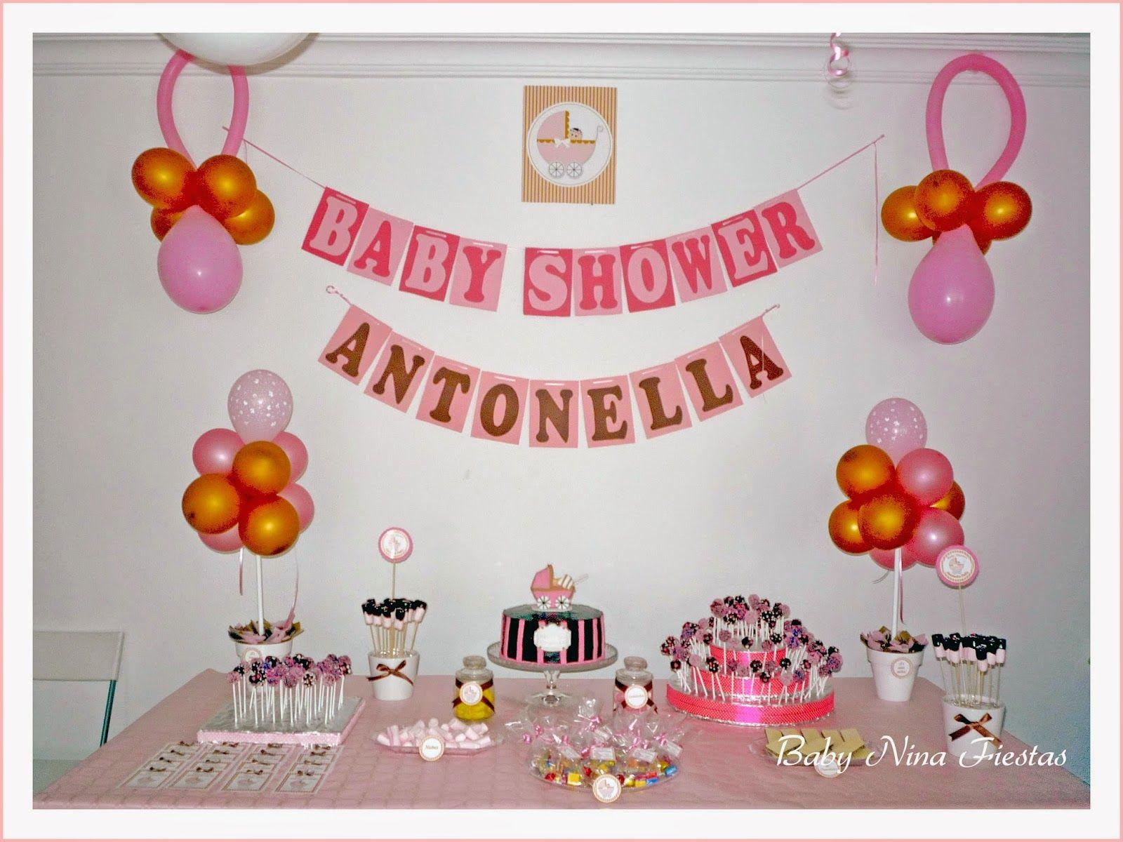 Mesas baby shower ni a buscar con google souvenirs - Decoracion baby shower nina sencillo ...
