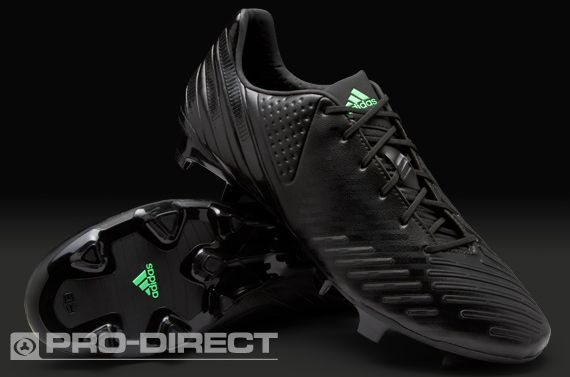 best service 0adea 399a6 adidas Football Boots - adidas Predator LZ TRX FG - Firm Ground - Soccer  Cleats - Black-Black-Green Zest