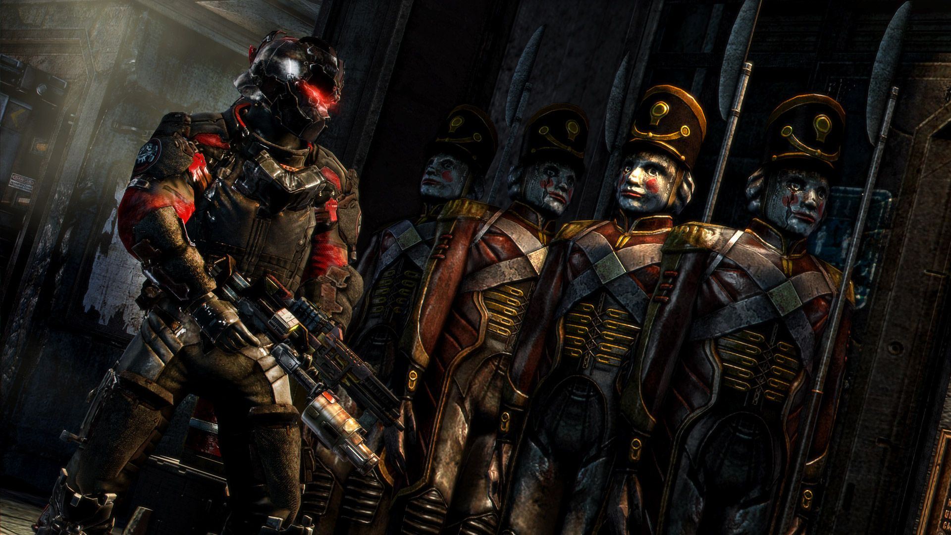 We've got seven and creepy new Dead Space 3