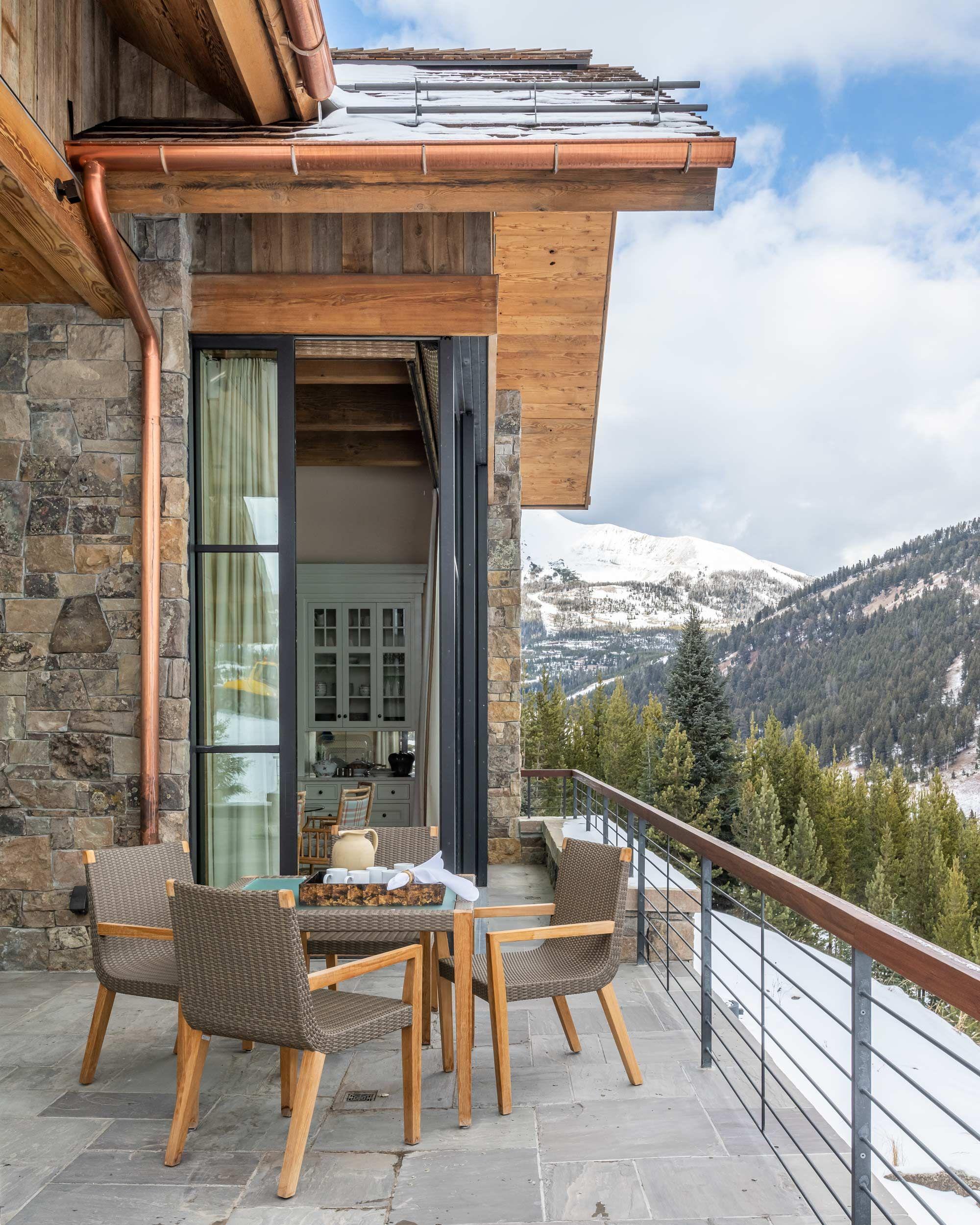 Modern Ski Escape Locati Architects Interiors Bozeman Big Sky Architects Ski House Mountain Interiors Fancy Houses