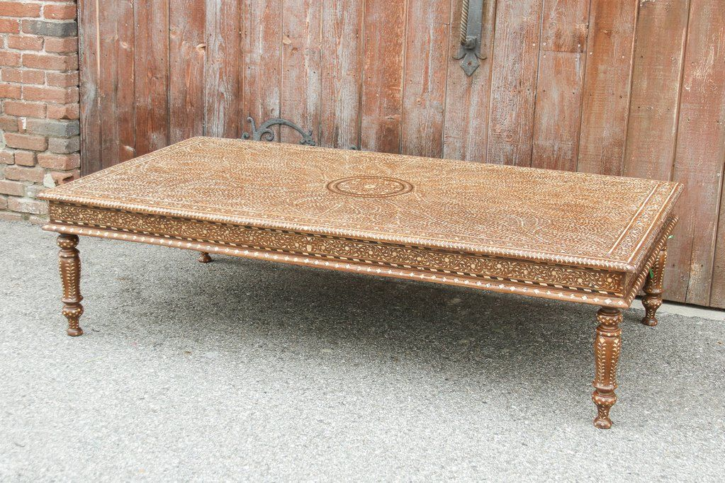 Excellent Anglo Indian Bone Inlay Coffee Table In 2019 Haverford Dailytribune Chair Design For Home Dailytribuneorg