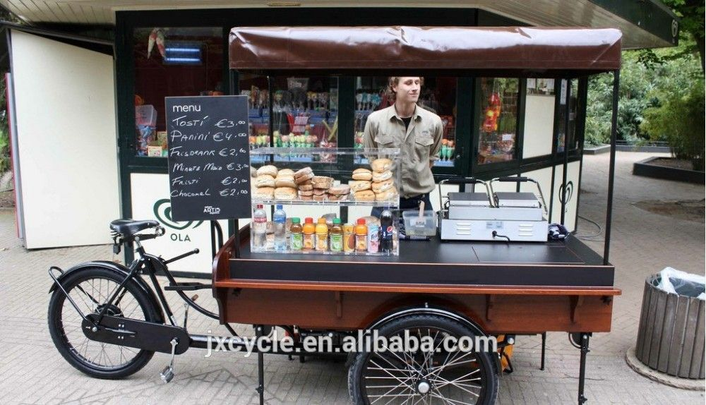 Electric Mobile Food Carts Coffee Bike For Sale Buy