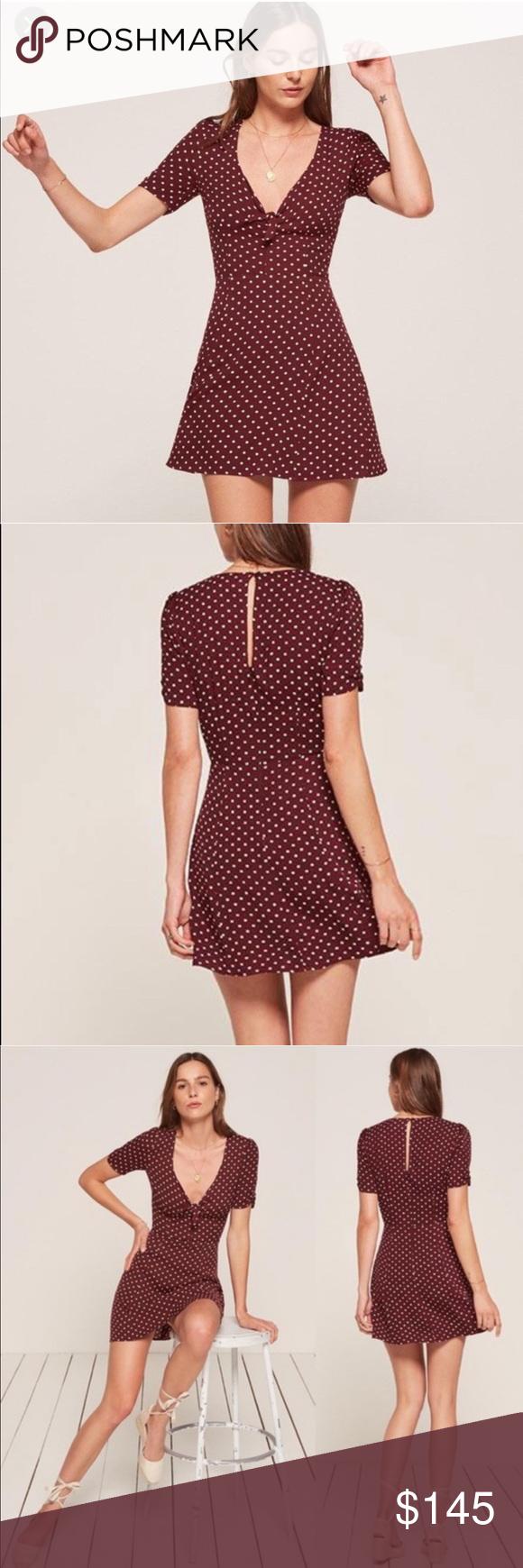 26+ Burgundy polka dot dress ideas in 2021