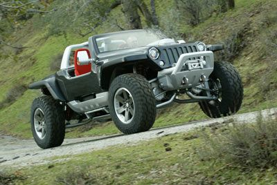 How The Jeep Hurricane Works Jeep Concept Jeep Cars Vehicles