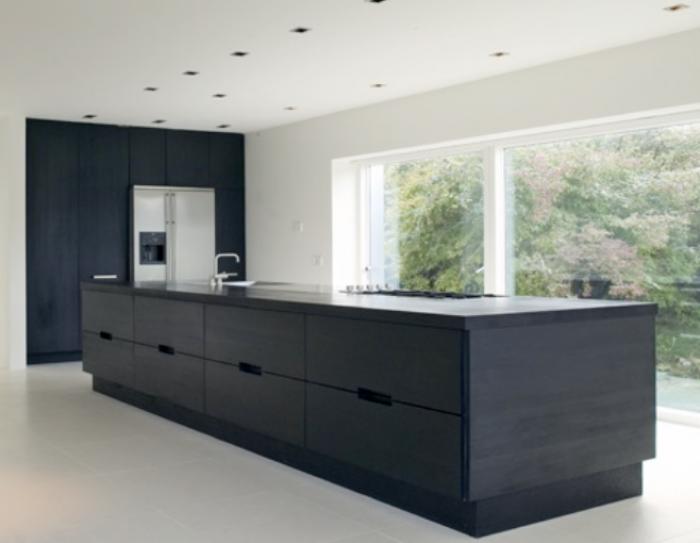 Zwart Keuken Kvik : Kvik keukens promotie werkbladen compact laminaat dark mika met