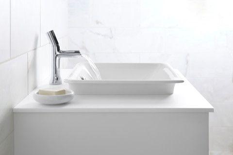 Iron Plains lavatory and Toobi lavatory faucet from #kohler ...