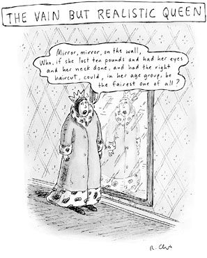From the great New Yorker cartoonist - Roz Chast