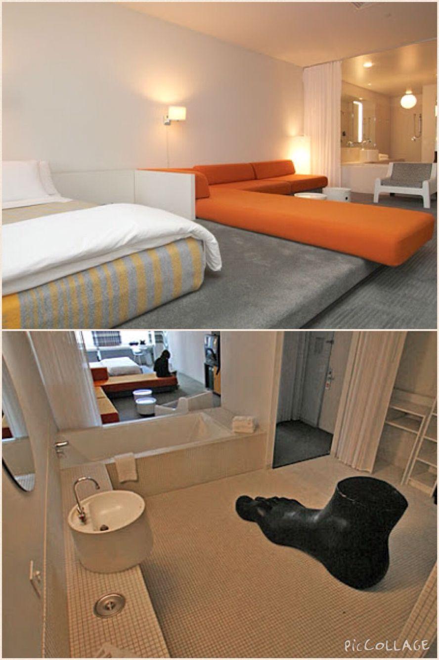 Standard Hotel Room: Downtown LA, Los Angeles, California, USA: Standard Hotel