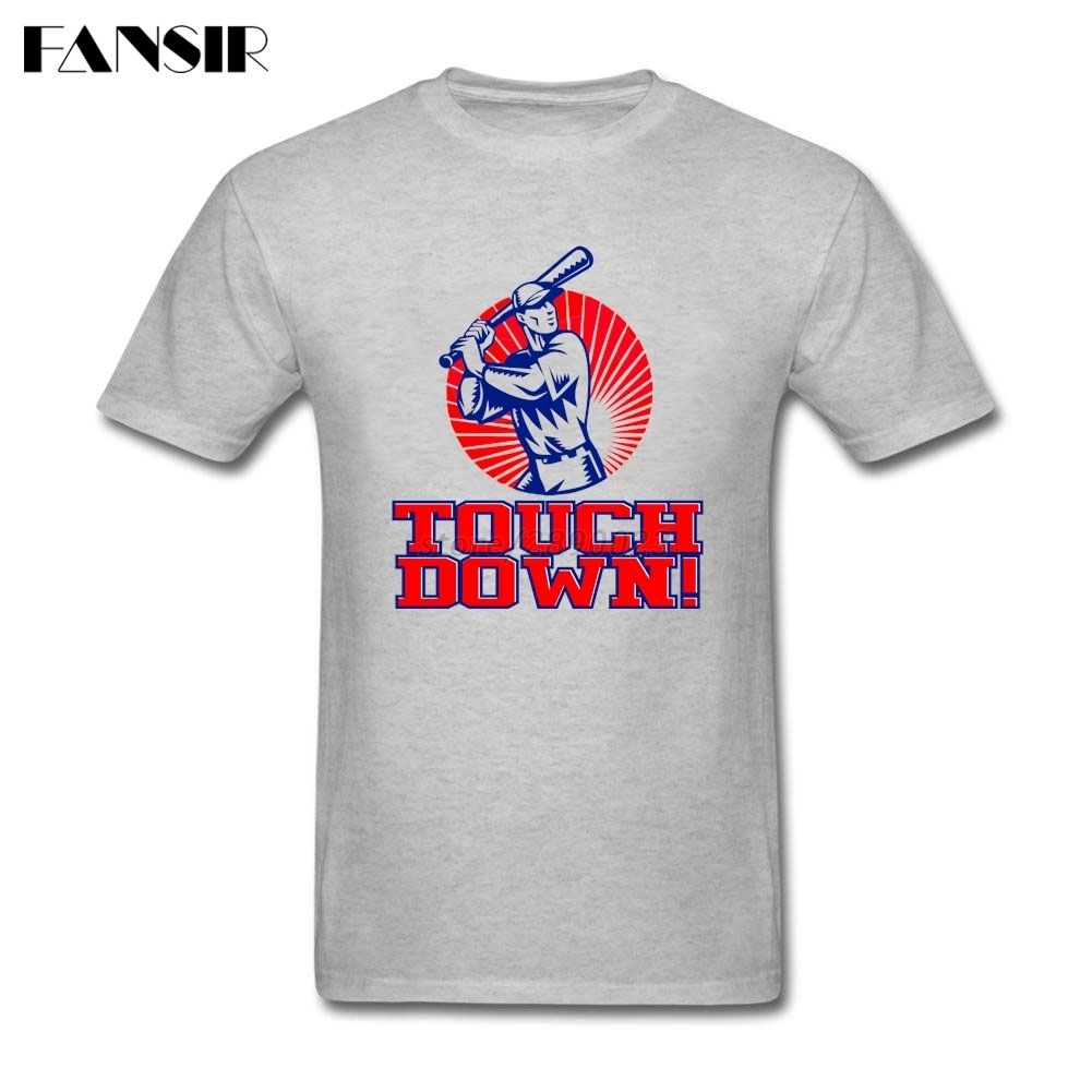 >> Click to Buy << Funny T Shirts Men Baseball Touchdown Men T Shirts Short Sleeve O Neck Teenage Brand Clothing #Affiliate